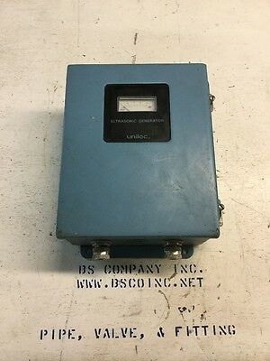 Uniloc Ultrasonic Generator Power: 115/230 Ser No.: I107958 *NEW*