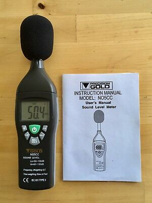 Sound Level Meter - Precision Gold N05CC