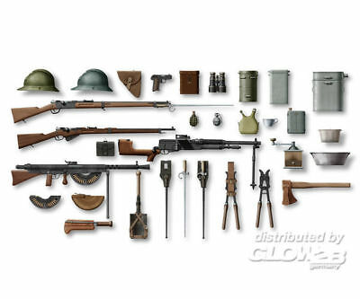 ICM 35681 WWI French Infantry Wamp;E in 1:35