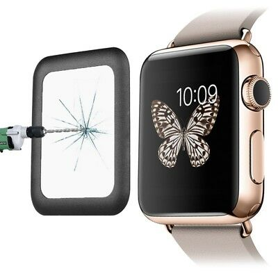 Tuff-Luv Curved Tempered Tuff-Glass Zero Air Bubble for Apple Watch 1 / 2 - 42mm