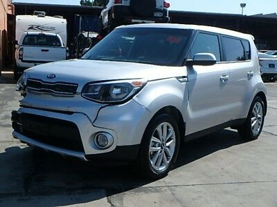 2017 Kia Soul + 2017 Kia Soul + Wrecked Salvage Repairable Only 400 Mi Economical Nice Project