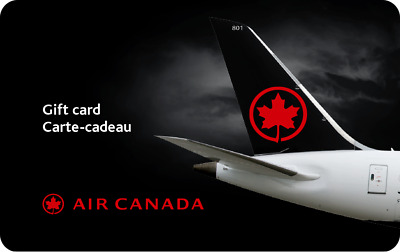 Air Canada Gift Card - $250 Mail Delivery