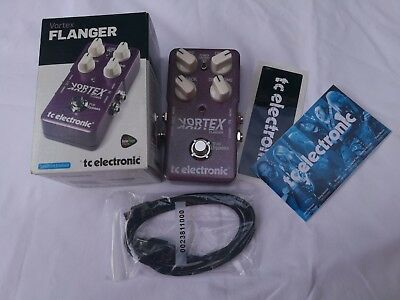 Tc Electronic Vortex Flanger Bnib (Ex-Display) - Free Next Day Delivery In The U