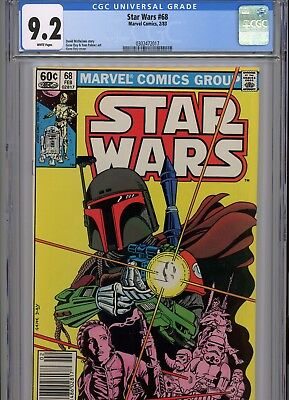 Star Wars #68 * CGC 9.2 * Boba Fett * The Search Begins * 3 ABY * NR *