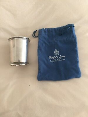 1960's Sterling Silver Mint Julep Cup  Mark J Scearce