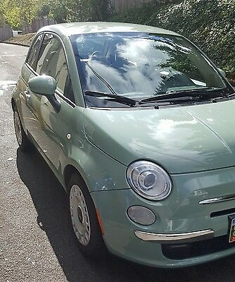 2012 Fiat 500 Pop 2012 Fiat 500 Pop 43k miles manual mint
