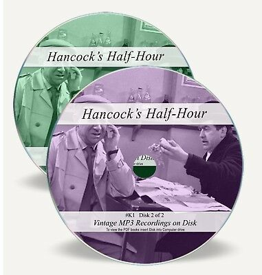 Hancock's Half Hour - 119 Old Time Comedy Radio Shows Audio MP3 2 CDs 60 Hrs K1