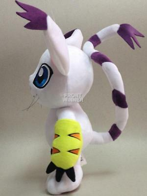 Big 30CM Digimon Adventure Gatomon Tailmon Plush Stuffed Doll 12'' DAPL1898
