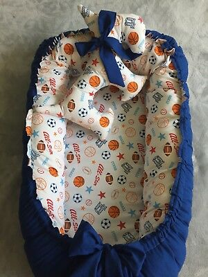 Baby Nest double side with toy dog for boys