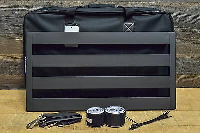 "Pedaltrain Classic 2 with Soft Case - 24x12.5"" Pedalboard w/ Bag for Eff. Pedals"