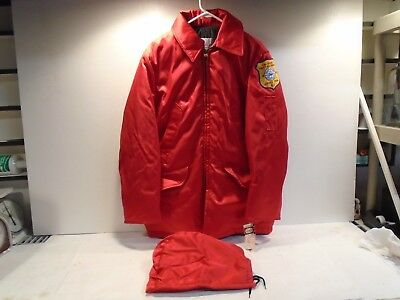 Golden Fleece First Aid Coat EMS size42 Tir-Boro First Aid Squad Seaside Park NJ