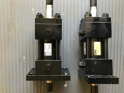2 Parker Hydraulic Cylinders 2000 Psi New
