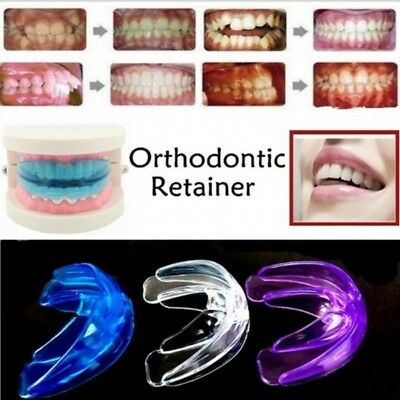 Straight Teeth System for Teens &Adults Orthodontic Retainer Correct with Box