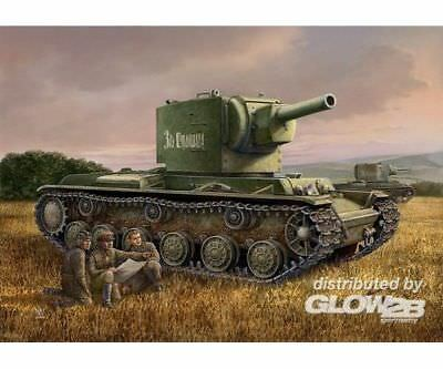 Hobby Boss 84816 Russian KV-2 Tank in 1:48