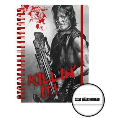The Walking Dead Notebook Daryl Hardback Lined Gift Official Licensed Product