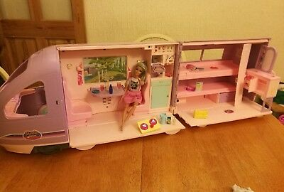 RARE Vintage Barbie Travel Train - 2001