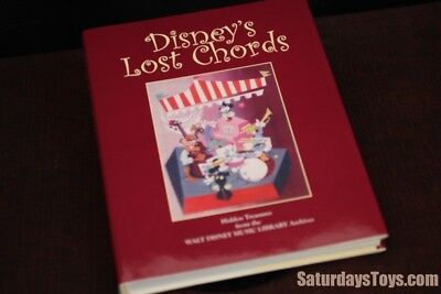 """2007 Book """"Disney's Lost Chords"""" Music History SIGNED Ltd Edition #140 of 1,000"""