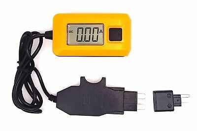 12V Automotive Fuse Box 20A Fuse Current Tester  Up to 48Vdc circuits Car Auto