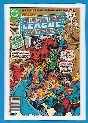 Justice League Of America #140_March 1977_F/vf_Batman_Bronze Age Dc Giant!