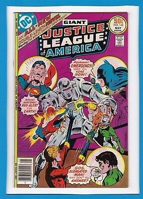 Justice League Of America #142_May 1977_Very Good_Batman_Bronze Age Giant!
