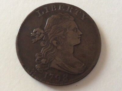1798 Draped Bust Large Cent S169 R3