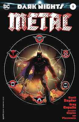 Dark Nights Metal 1 Capullo Midnight Release Variant Batman Nm Sold Out