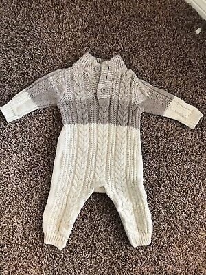 Baby Gap Baby Boys One Piece Sweater Size 6-12 Months