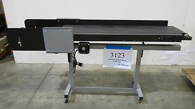 "12""W x 48""L Variable Speed Conveyor with Adjustable Tilt and Delivery Tray"
