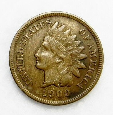 1909-S  Indian Head Cent 1¢