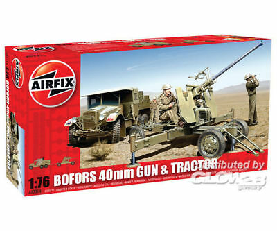 Airfix A02314 Bofors Gun and Tractor in 1:76