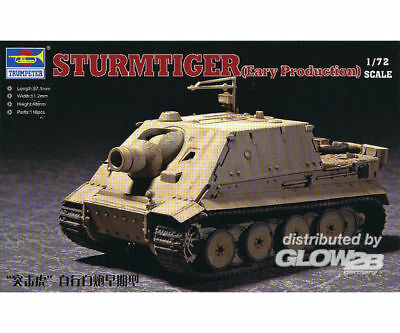 Trumpeter 07274 Sturmtiger Assault Mortar Early Typ in 1:72