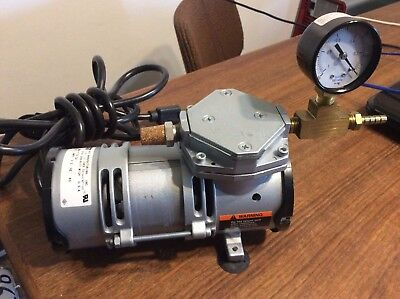 Gast Moa-V176-Ca Vacuum Pump Super Nice  A-1 Condition Barely If Ever Used