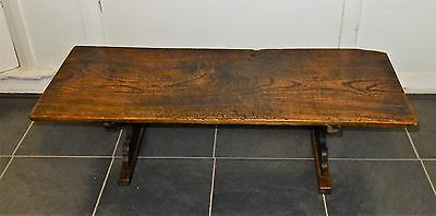 Antique Elm Alter Top Table