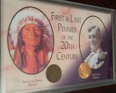 First and Last  Pennies of the 20th Century
