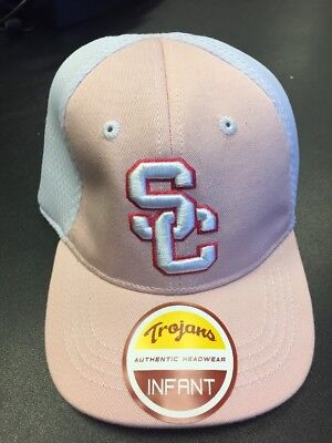 0b0547771339f USC Trojans Pink Infant Girls hat NCAA Officially Licensed Authentic Apparel