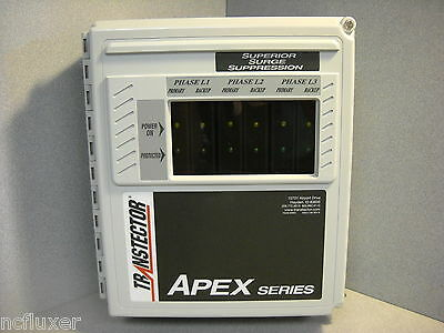 TRANSTECTOR APEX IV X5 120WMR TVSS SUPPRESSOR pn:1101-464 BRAND NEW NO DOA