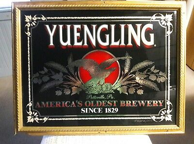 Vintage Signed( Dick Yuengling) Pottsville Pa.rare Beer Advertising. Awesome.