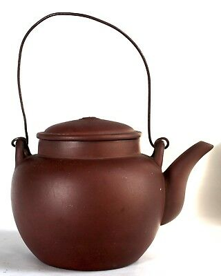 Antique Chinese Yixing Clay Teapot w Mark