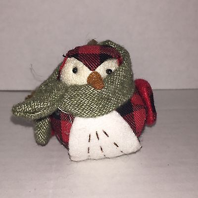Target Wondershop Christmas Holiday Camping Bird Ornament SCOUT - NWT