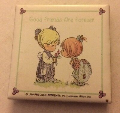 "Precious Moments Magnet ""Good Friends Are Forever"" From 1998"