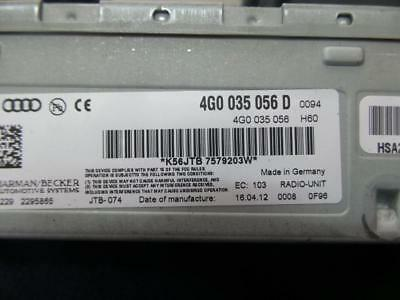 Audi Q5 Radio/cd/dvd/sat/tv Radio Module, 8R, 03/09- 09 10 11 12 13 14 15 16 17