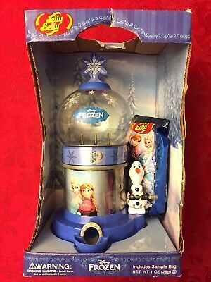 Jelly Belly Disney's 'frozen' Jelly Bean Machine Dispenser - New Never Opened