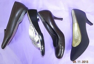 BRUNO MAGLI CAPEZIO WALKING Stuart Weitzman mint! all are 7.5 narrow