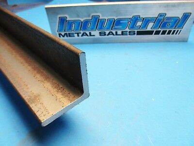 """A-36 Hot Rolled Steel Angle 2"""" x 2"""" x 12"""" x 1/4"""" Thick-->2"""" x 2"""" x .250"""" ANGLE"""