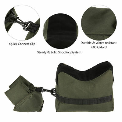 Oxford Cloth Unfilled Package Front&Rear Sandbag Shooting Hunting Rifle Support