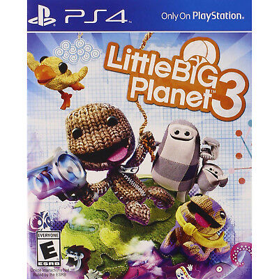 LittleBig Planet 3 (2014) Brand New Factory Sealed USA Playstation 4 PS4 Game