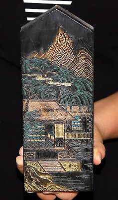 590g Antiques Traditional Chinese Black Inkstick / Ink Cake