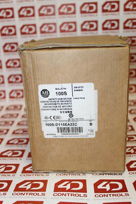 Allen Bradley 100S-D115EA22C Safety Contactor - Series B - New Surplus Open