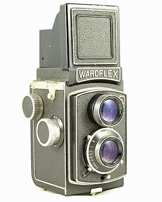Wardflex TLR Twin Lens Reflex Collectible Camera