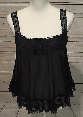 Victoria's Secret LOT OF 2 Women's Babydoll Chemise & Camisole Sexy Size S